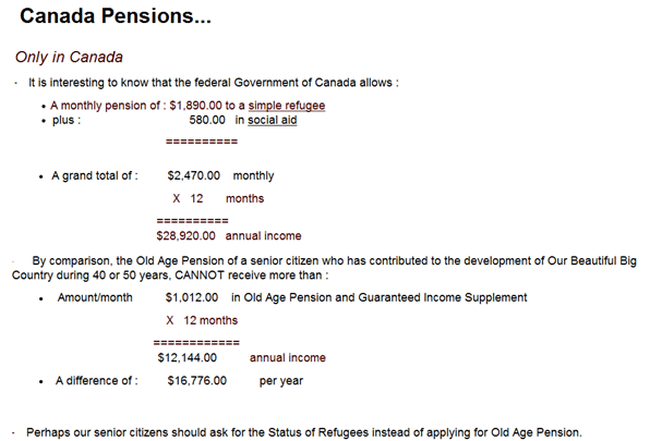 Canadian Pensions